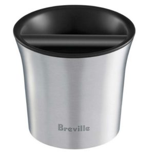 The Breville Knock Box is the prefect companion for the Best Espresso Machine for Life