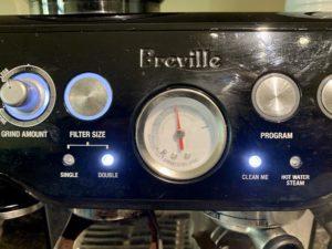 Breville Pressure Gauge on the Best Espresso Machine for Life