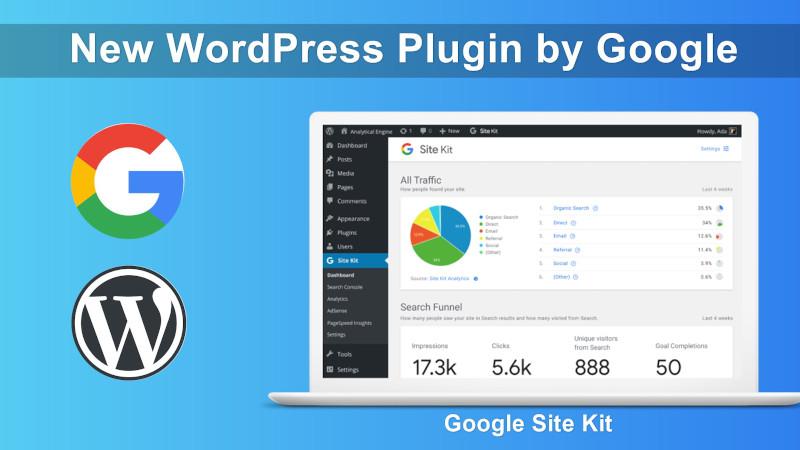 Google Site Kit for WordPress Plugin