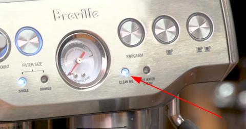 Breville Clean Me Light on the Best Espresso Machine for Life